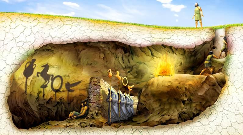 El mito de la caverna. Platón pa los niños.