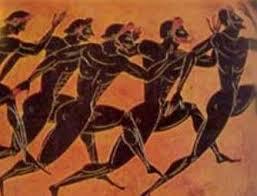 Maratón de hombres griegos