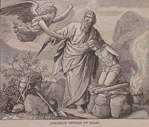 El sacrifico de Issac, inicio mitico de la religión judía