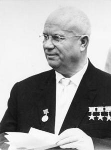 Nikita Kruschevnota, Primer Secretario del Partido Comunista de la Unión Soviética entre 1953 y 1964
