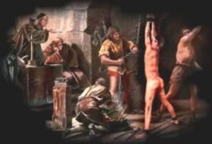 Torturar de la Gran Inquisición