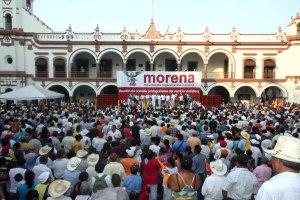 Morena en Veracruz