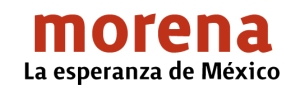 Logotipo Morena