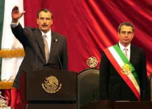 Transición de Ernesto Zedillo a Vicente Fox