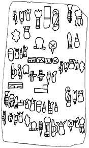 Glifos Olmeca