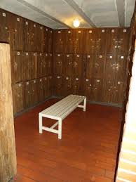 Las Termas, salón de lokers