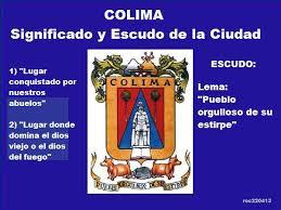 Signifcado y escudo de Colima