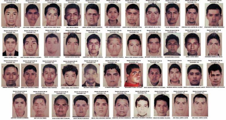 43 Jóvenes desaparecidos en Iguala, Guerrero