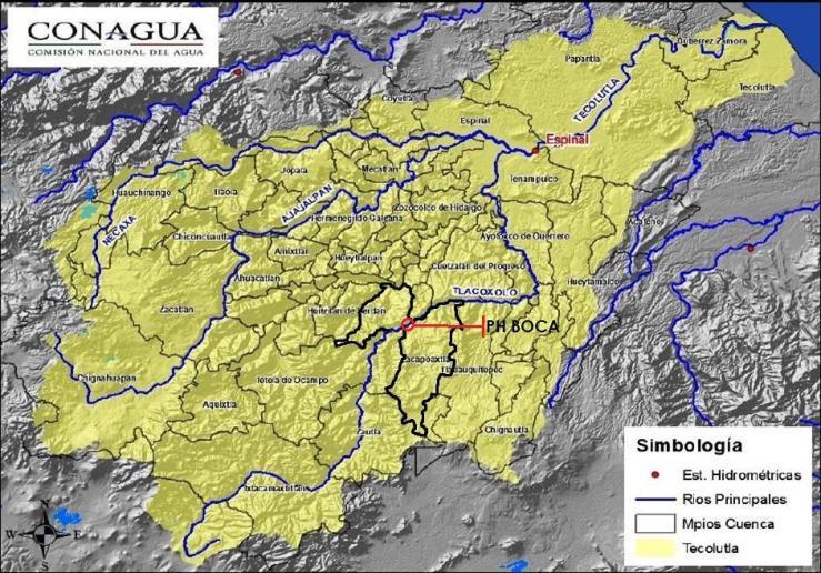 Cuenca del río Apulco
