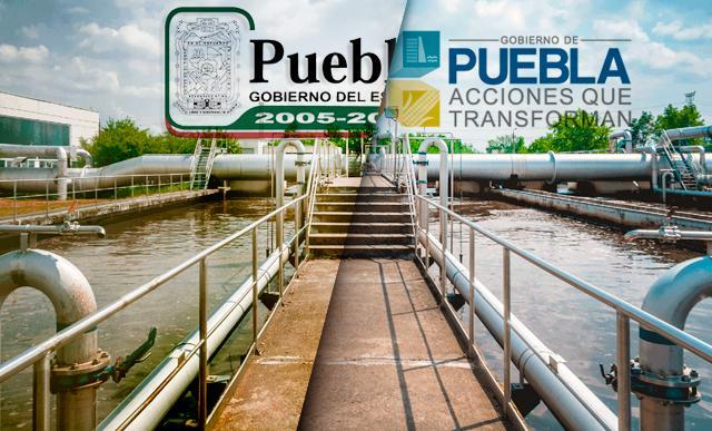 Plantas tratadoras de aguas residuales en Puebla
