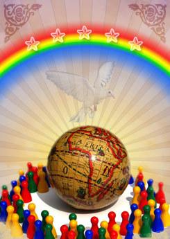 Arcoiris de los Derechos Humanos
