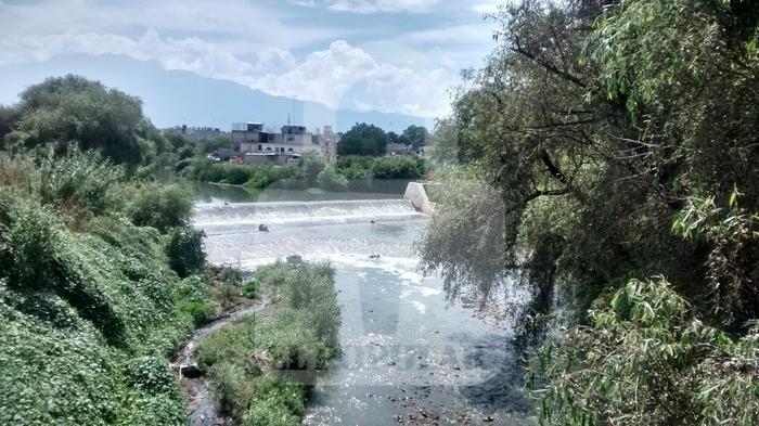Planta de tratamiento de agua residual que no funciona desde hace 12 años, San Martín Texmelucan