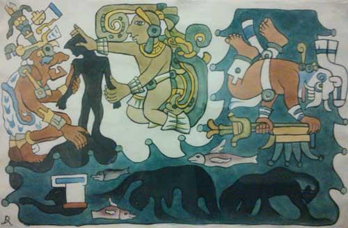 El mito de la creación según los maya