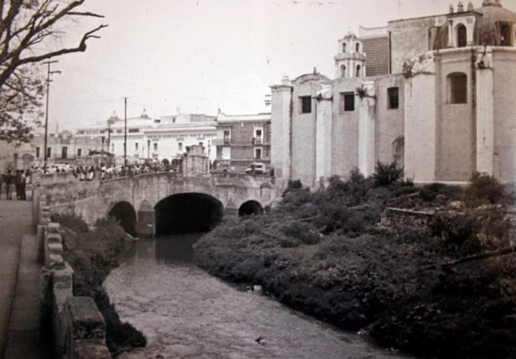 El Río San Francisco nace en las faldas de la montaña Malintzi