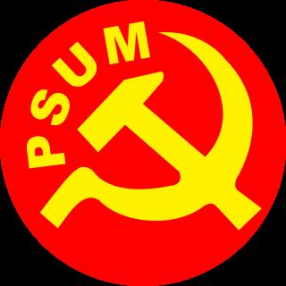 Emblema del Partido Socialista Unificado de México