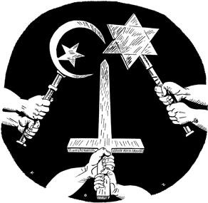 Imagen pa parar guerras santas