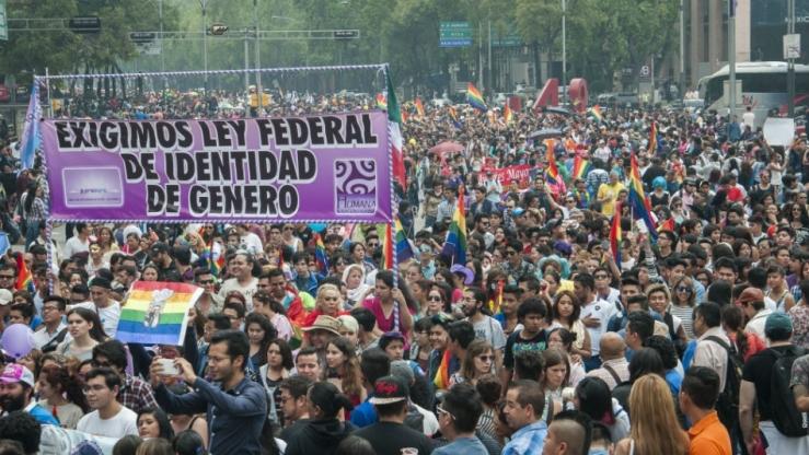 Marcha LGBT en México