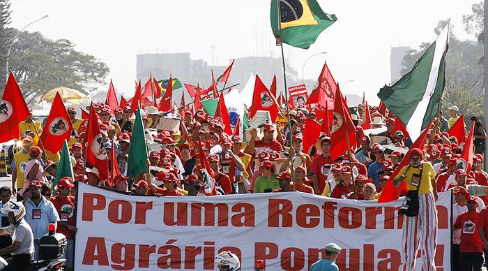 Movimiento de los Trabajadores Rurales Sin Tierra, Brasil